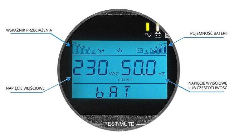 UPS AT UPS1000 LCD Online