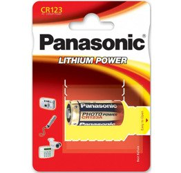 BATERIA PANASONIC CR-123A