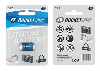 Bateria litowa ROCKET CR2