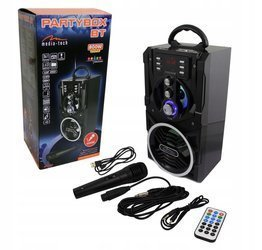 Boombox karaoke MT3150 MP3 FM Bluetooth Media-tech