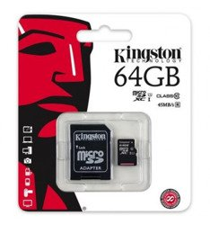 KARTA PAMIĘCI SD KINGSTON 64GB Z ADAPTEREM