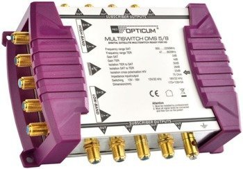 MULTISWITCH OPTICUM OMS 5/8