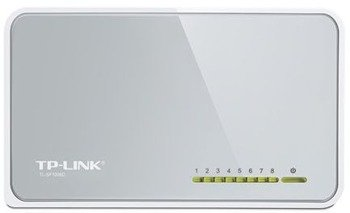 SWITCH TP LINK TL-SF1008D 8 PORTÓW 100Mbps