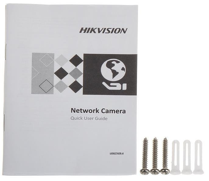 KAMERA IP DS-2CD2423G0-IW(2.8mm) Wi-Fi - 1080p HIKVISION