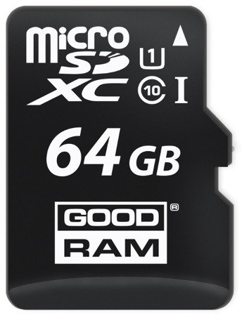 KARTA PAMIĘCI SD GOODRAM UHS1 CL10 64GB + ADAPTER
